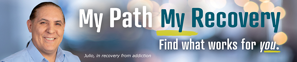 Image for My Path My Recovery and link to recovery page